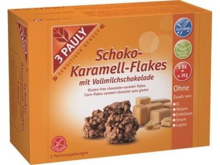 Schoko-Karamell-Flakes