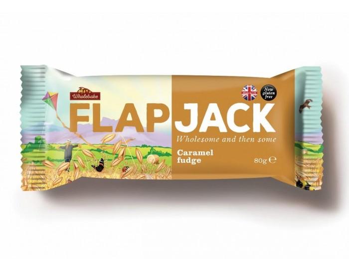 Flapjacks 2017 Karamell fudge