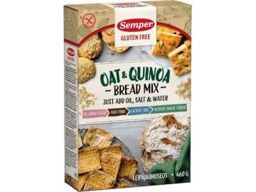 Semper havre og QuinoaBrødmiks