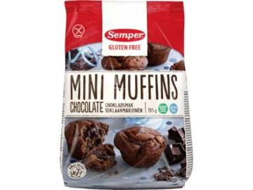 Semper Mini muffins Sjokolade