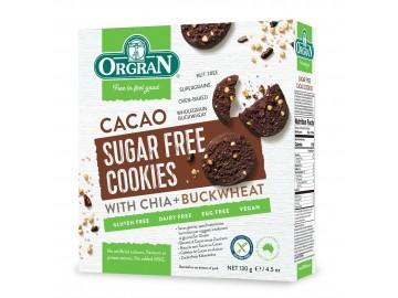 Orgran Cacao sugerfree cookies
