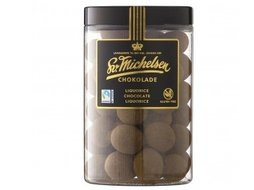 20181 Lakris med sjokolade & lakrispulver 250g