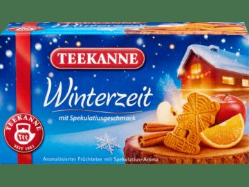 Teekanne-Winterzeit