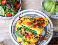 easy egg omelett 2