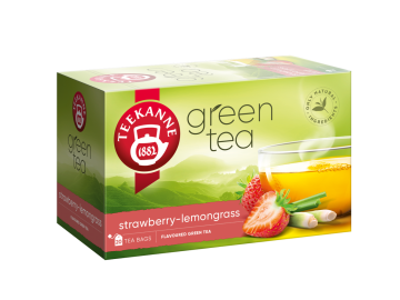 Green Tea Strawberry Lemongrass