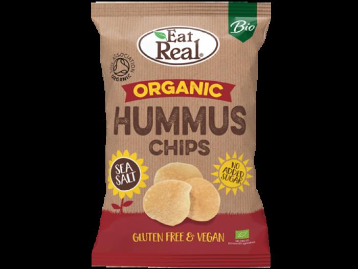 Eat Real Orgranic Hummus chips sea salt