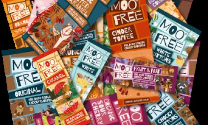 NY DESIGN! Allergivennlig økologisk sjokolade Melkefri – Glutenfri – Hvetefri – Soyafri - Laktosefri  Mo Free er en verdenslede