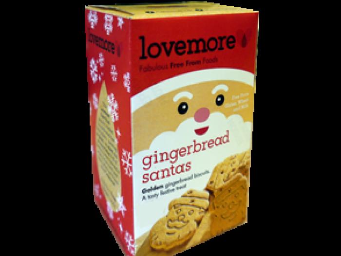 Lovemore SANTA GINGERBREAD