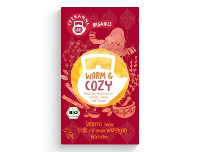 Teekanne WARM & COSY Økologisk