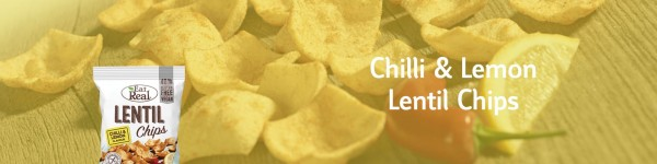 Chilli & Lemon lentil chips